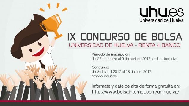 La UHU y Renta 4 organizan la IX edición del Concurso de Bolsa