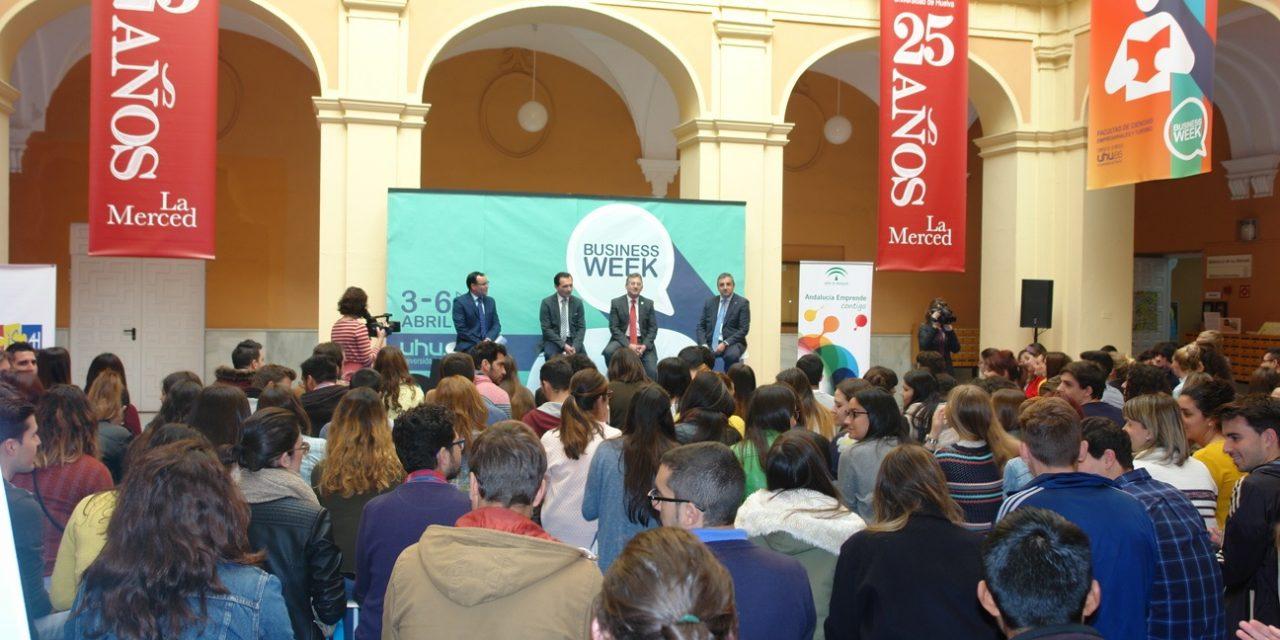 #BusinessWeek, la Universidad de Huelva se vuelca en la formación de los emprendedores