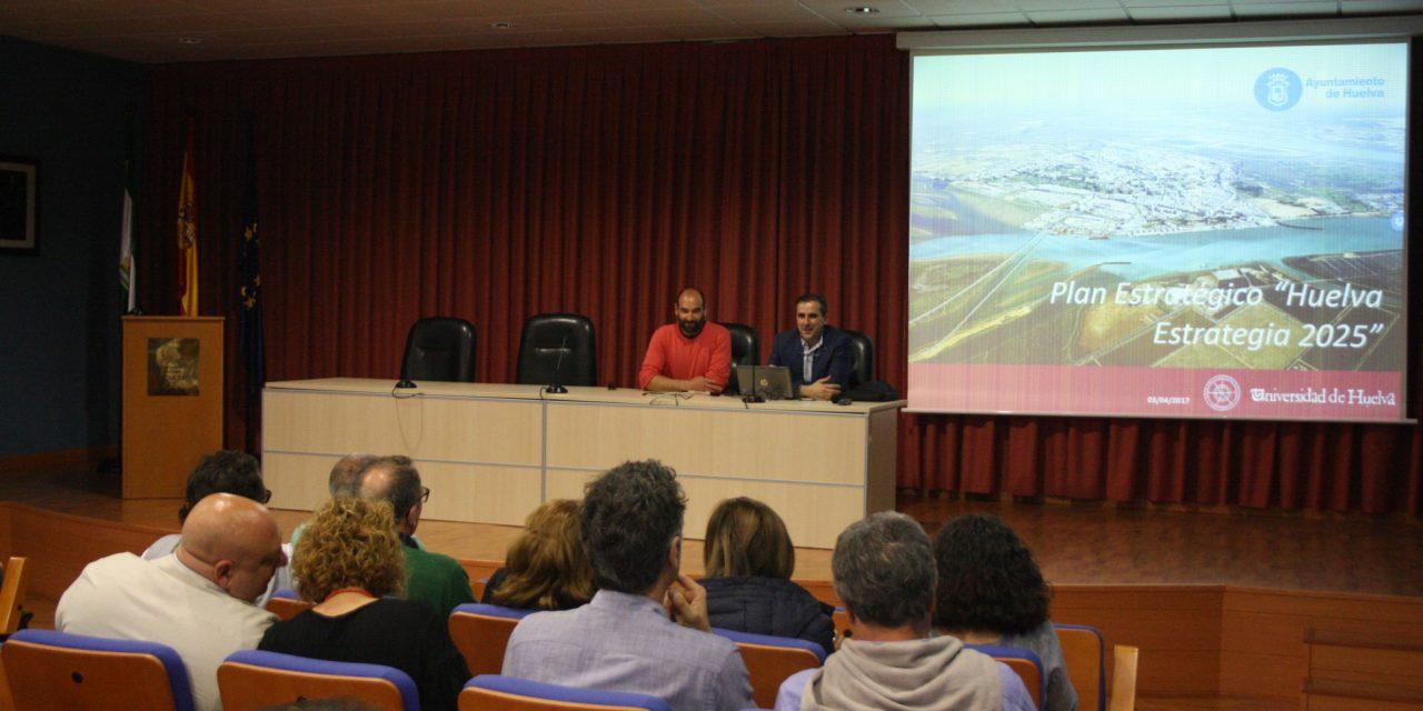 La Universidad de Huelva presenta el Plan Estratégico de Huelva a los expertos