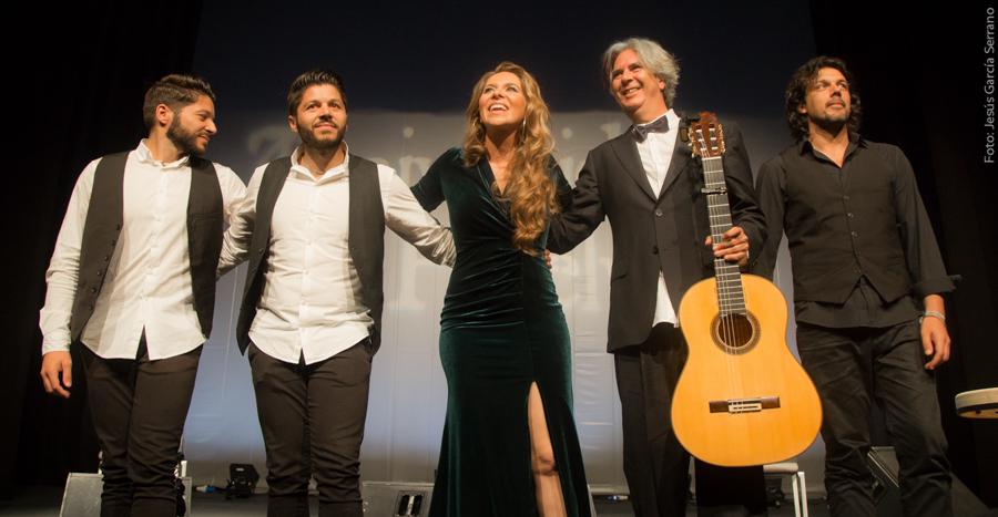 El flamenco de Rocío Márquez inaugura por todo lo alto el Auditorio de la Universidad de Huelva