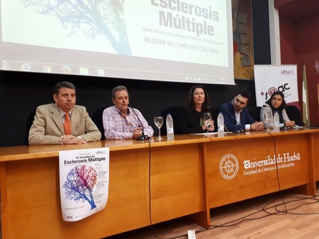 Salud y la Asociación de Afectados organizan con la UHU las VI Jornadas de Esclerosis Múltiple