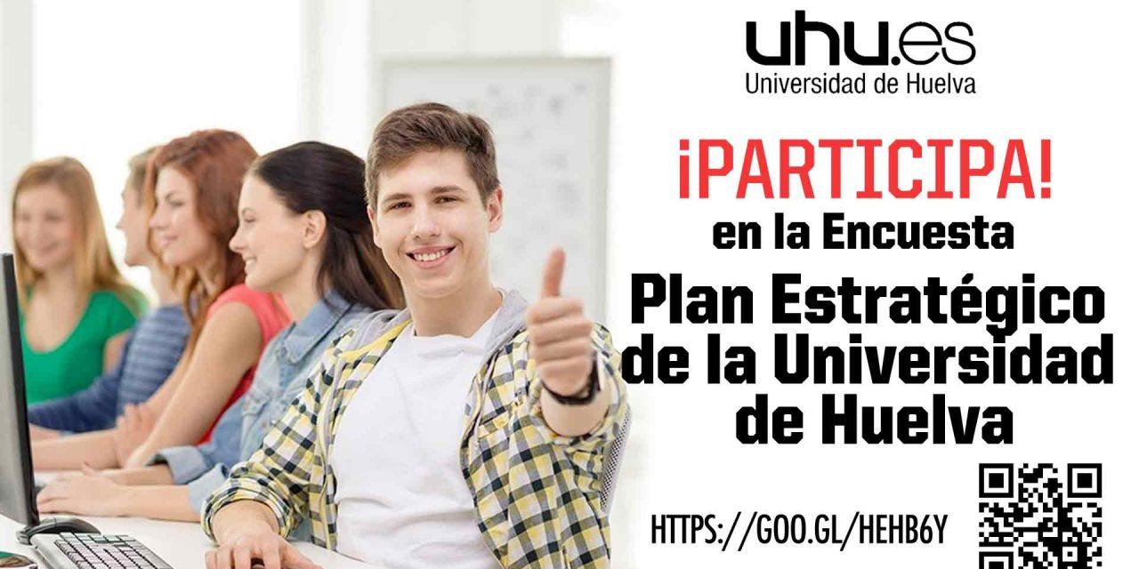 Participa en la encuesta del Plan Estratégico de la Universidad de Huelva