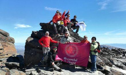 Expedición al pico Mulhacén
