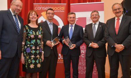 El Foro de los Consejos Sociales entrega en la UHU sus VIII Premios de Implicación Social