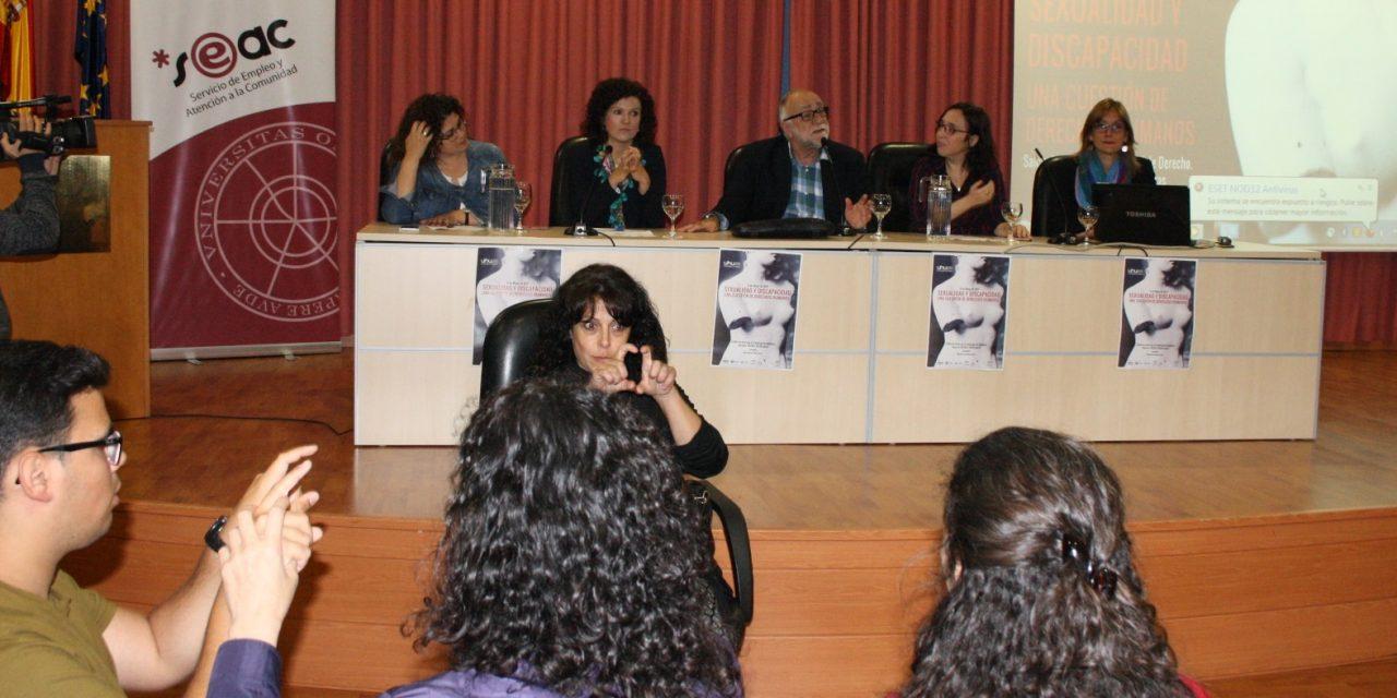 La Universidad de Huelva rompe el tabú acerca de la sexualidad y la discapacidad