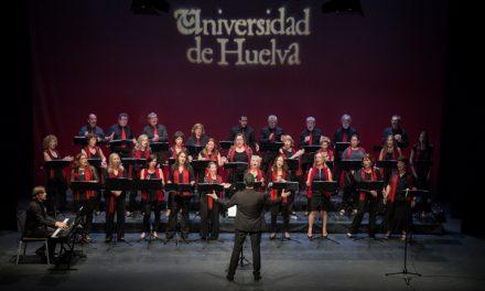 Tres grandes coros de Huelva y Sevilla se ven las caras en el Auditorio de la Universidad de Huelva
