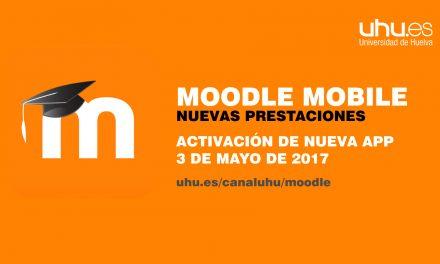 La Universidad de Huelva activa Moodle Mobile, una App oficial para el uso de la Moodle