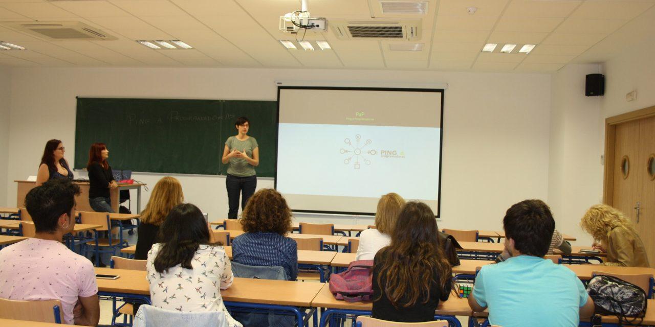 La Universidad de Huelva visibiliza el papel de la mujer en el mundo de la programación