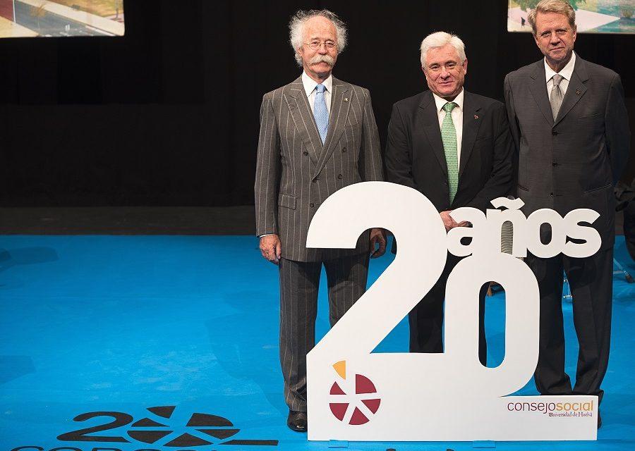 El Consejo Social de la Onubense celebra 20 años acercando Huelva a su Universidad