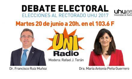 Elecciones Rectorado: Debate en UniRadio hoy a las 20h