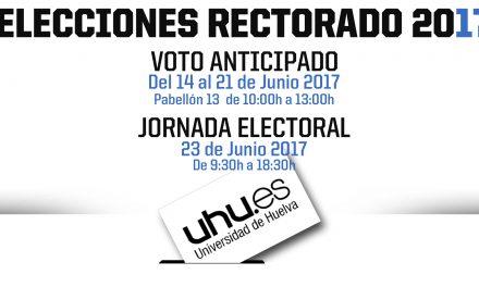Elecciones Rectorado: Del 14 al 21 de junio se puede emitir el voto anticipado