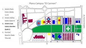 Plano campus el carmen selectividad 2017