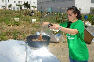 cocina solar cuatro