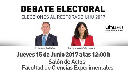 Elecciones Rectorado: debate entre candidatos el jueves 15 a las 12h. en Experimentales