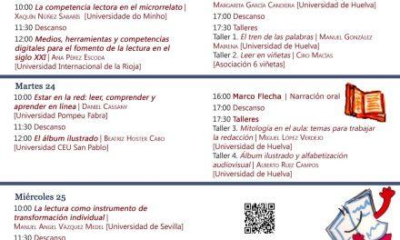 Leer para pensar y ser, en la Universidad de Huelva