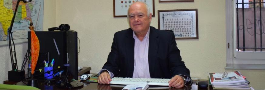 Enrique Bonsón en su despacho