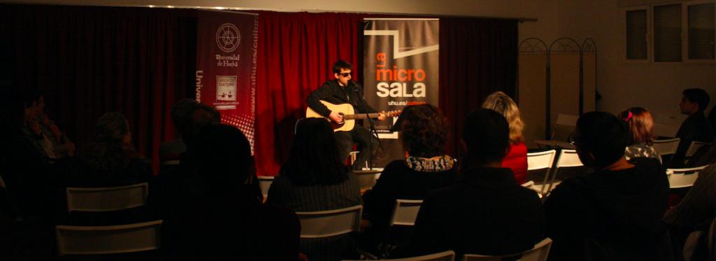 Fernando Bazán en la MicroSala