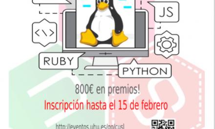 Primer concurso universitario de Software Libre de la Universidad de Huelva