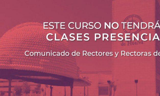 Acuerdo de los rectores/as de las Universidades Públicas de Andalucía y el Consejero 02.04.2020