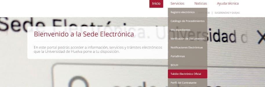 tablon electronico