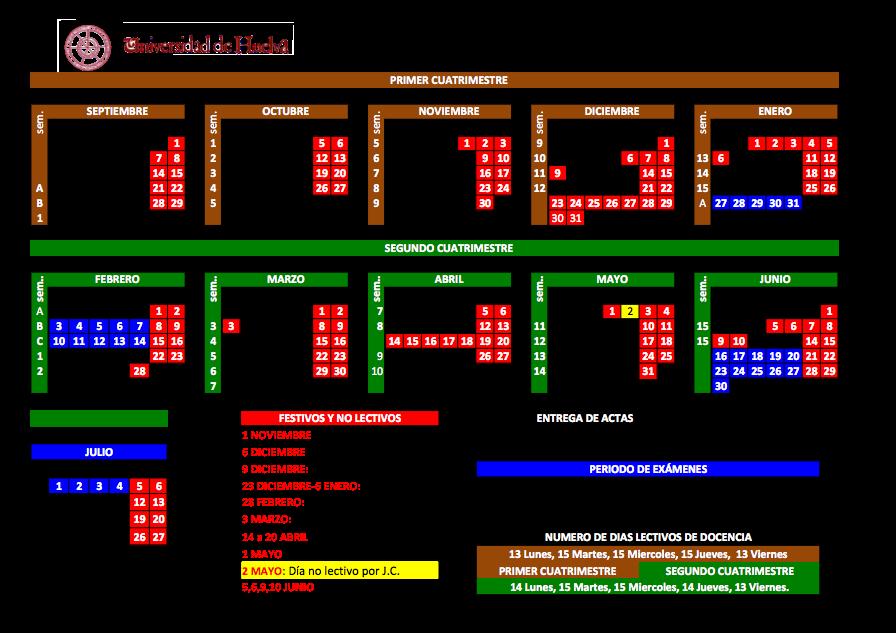 Calendario 2014 2013
